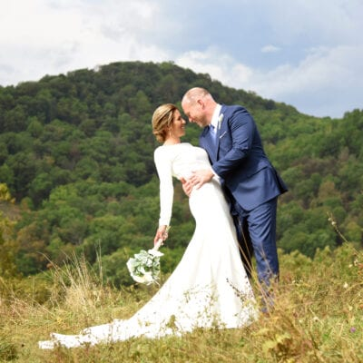 A Beautiful Front Lawn Wedding in Franklin, West Virginia