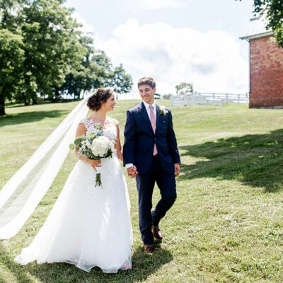 A Stately Summer Ceremony in Union, West Virginia