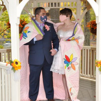How to Tie the Knot with a Quilt